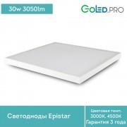 Светодиодный светильник армстронг 600х600 ПромЛед ОФИС-30 ЭКО