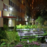 Модернизация внутреннего и наружнего освещения жилого многоэтажного дома.