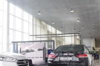 Проект освещения Автосалона Дакар: замена ДРЛ 500 светодиодными светильниками