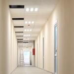 Освещение промышленного цеха и площадей офисного назначения.
