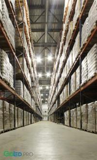Переоборудование освещения склада готовой продукции