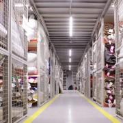 Освещение склада готовой продукции