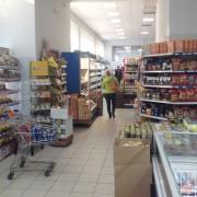 """Освещение супермаркета """"Рассвет"""""""